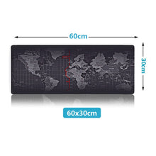 Load image into Gallery viewer, ZUOYA Hot Sell Extra Large Mouse Pad Old World Map Gaming Mousepad Anti-slip Natural Rubber with Locking Edge Gaming Mouse Mat