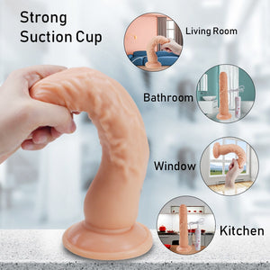 FLXUR 10 Modes Dildo Vibrator Adult Toy Suction Cup Clitoris Stimulator Penis G Spot Vagina Female Masturbator Sex Toy For Women