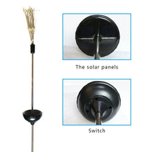 Load image into Gallery viewer, 90/150 LED solar light eight function modes dandelion lawn lights / grass fireworks lamp /outdoor waterproof solar garden light