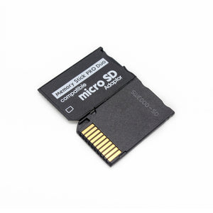 Support Memory Card Adapter Micro SD To Memory Stick Adapter For PSP Micro SD 1MB-128GB Memory Stick Pro Duo Adapter Convert