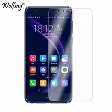 Load image into Gallery viewer, 2PCS Glass For Huawei Honor 8 Screen Protector Tempered Glass For Huawei Honor 8X Glass For Honor 8 Honor 8X 8 X Protective Film