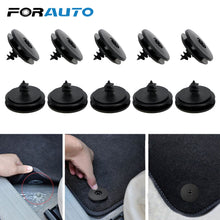 Load image into Gallery viewer, FORAUTO 10 piece Auto Fastener Floor Mat Buckle Antiskid Pad Fastener Car Fastener Clips Skid Resistant Carpet Fixed Clamp
