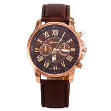 Load image into Gallery viewer, CAY Casual Leather Bracelet Wrist Watch Women Fashion White Ladies Watch Alloy Analog Quartz Watches relojes Relogio Feminino