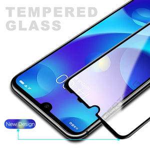 Screen Protector Tempered Glass For Xiaomi Redmi 7 8 Note 7 Pro 8 Pro 8T Full Cover Toughened Glass For Xiaomi Redmi 7A 8A Case