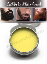 Load image into Gallery viewer, Natural Beard Balm Beard Conditioner Professional For Beard Growth Organic Mustache Wax For beard Smooth Styling 30g 60g sevich
