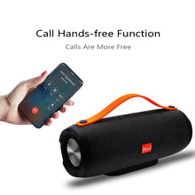 Load image into Gallery viewer, M&J Portable wireless Bluetooth Speaker Stereo big power 10W system TF FM Radio Music Subwoofer Column Speakers for Computer
