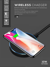 Load image into Gallery viewer, FDGAO 10W Fast Wireless Charger For Samsung Galaxy S10 S9/S9+ S8 Note 9 USB Qi Charging Pad for iPhone 11 Pro XS Max XR X 8 Plus