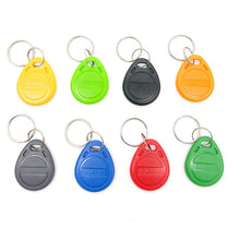 Load image into Gallery viewer, 100pcs Rfid Tag 125KHz  Proximity RFID Card Keyfobs Key Fob Access Control Smart Card 11 Colors