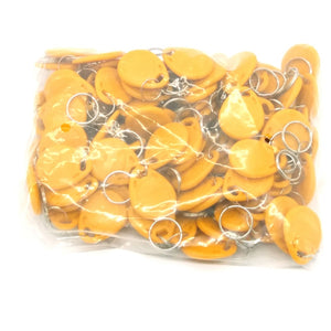 100pcs Rfid Tag 125KHz  Proximity RFID Card Keyfobs Key Fob Access Control Smart Card 11 Colors