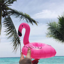 Load image into Gallery viewer, PIKAALAFAN New Hot Selling Mini Pink Flamingo Inflatable Drink Cup Holders Floating Toy Pool Can Party For Phone Cup 1Pcs