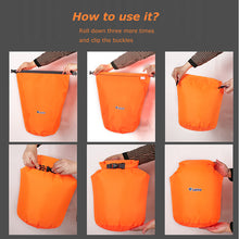 Load image into Gallery viewer, 10L 20L Waterproof Dry Bag Pack Sack Swimming Rafting Kayaking River Trekking Floating Sailing Canoing Boating Water Resistance