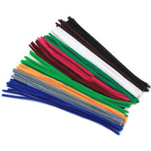 Load image into Gallery viewer, Multicolour Chenille Stems Pipe Cleaners Handmade Diy Art Craft Material Kids Creativity Handicraft Children Toys