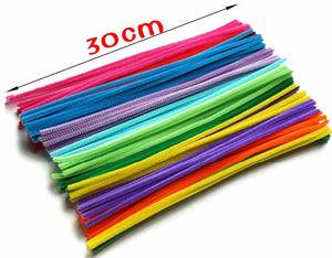 Multicolour Chenille Stems Pipe Cleaners Handmade Diy Art Craft Material Kids Creativity Handicraft Children Toys