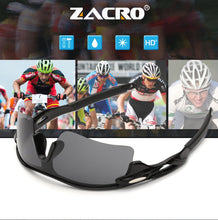 Load image into Gallery viewer, Zacro Cycling Eyewear Glasses Outdoor Sport Mountain Bike MTB Bicycle Glasses Motorcycle Sunglasses Eyewear Oculos Ciclismo