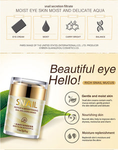 OneSpring Snail Cream Anti Wrinkle and Nourishing Acne Treatment Faical Skin Care Moisturizer Repair Face Cream