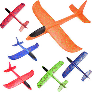2019 DIY Kids Toys Hand Throw Flying Glider Planes Foam Aeroplane Model Party Bag Fillers Flying Glider Airplane Toys for Games