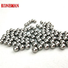 Load image into Gallery viewer, 60/100pcs 6-9mm Hunting special Slingshot carbon Balls Stainless AMMO Steel Balls For Sling Shot Stainless Steel Balls For Shoot