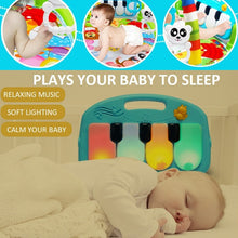 Load image into Gallery viewer, Baby Play Mat Kids Rug Educational Puzzle Carpet With Piano Keyboard And Cute Animal Playmat Baby Gym Crawling Activity Mat Toys