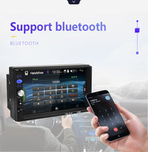 Load image into Gallery viewer, 2din Car Radio 7 inch Touch mirrorlink Android  Player subwoofer MP5 Player Autoradio Bluetooth Rear View Camera tape recorder
