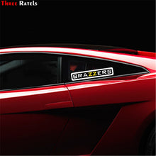 Load image into Gallery viewer, Three Ratels TZ-1384#10*46.3cm 4.9*22.5cm car sticker brazzers colorful funny car stickers auto decals removable