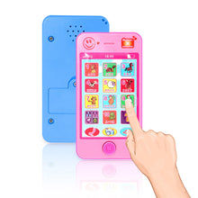 Load image into Gallery viewer, Russian Language Kids Phone Toys Children's Educational Simulation Music Mobile Phone Toy Phone Toy Gift for Children Baby Phone