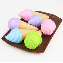 Load image into Gallery viewer, Kawaii Children's Kitchen Toys Plastic Simulation Food Cake Ice Cream Dessert Pretend Play Early Education Toy For kids Gift