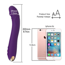 Load image into Gallery viewer, HWOK G Spot Dildo Vibrator erotic sex toys for adult Silicone Massager For Women Straponless Anal Butt Plug Products Masturbator