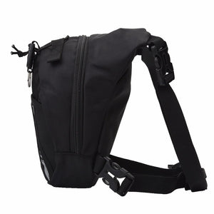 Portable Man Functional Fanny Running Bag Waist Bag Money Phone Bag Outdoor Sport Running Travel Waist Pack Waistpack Leg Bag