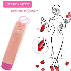 Big Dildo Vibrator Sex Toys for Adults Woman Erotic Intimate Goods Huge Realistic Penis Vibrators For Women Sex Products Shop