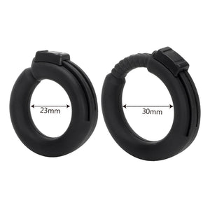 OLO Cock Ring Silicone Penis Rings Delay Ejaculation Adjustable Male Chastity Device White/Black Sex Toys for Men Adult Products