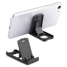 Load image into Gallery viewer, Universal Plastic Phone Holder Stand Foldable Desk Stand Holder 4 Degrees Adjustable Universal For IPhone For Xiaomi Phone