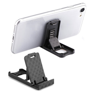 Universal Plastic Phone Holder Stand Foldable Desk Stand Holder 4 Degrees Adjustable Universal For IPhone For Xiaomi Phone