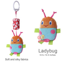 Load image into Gallery viewer, Cute Animal Plush Rattles Stroller Hanging Bell Mobiles Infant Baby Soft Crib Educational Toys for Newborn Children Gift Sozzy