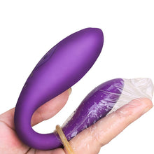 Load image into Gallery viewer, Wireless Vibrator Adult Toys For Couples USB Rechargeable G Spot U Silicone Stimulator Dildo Double Vibrators Sex Toy For Woman