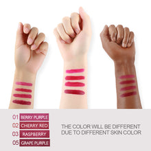 Load image into Gallery viewer, COSCELIA Matte Velvet Sexy Lipgloss Set Cosmetic Lip TintWaterproof Long Lasting 4pcs Lip Stick Moisturizer Lipstick Makeup