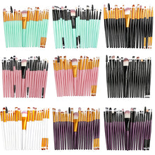 Load image into Gallery viewer, La Milee 20/5Pcs Makeup Brushes Set Eye Shadow Foundation Powder Eyeliner Eyelash Lip Make Up Brush Cosmetic Beauty Tool Kit Hot