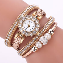 Load image into Gallery viewer, Womens Watches Luxury top brand Beautiful Fashion Bracelet Watch Ladies Watch Round Bracelet Watch 2019 femme gift reloj mujer S