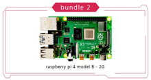 Load image into Gallery viewer, New 2019 Official Original Raspberry Pi 4 Model B Development Board Kit RAM 1G/2G/4G 4 Core CPU 1.5Ghz 3 Speeder Than Pi 3B+