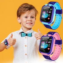 Load image into Gallery viewer, Children Smart Watch Camera Lighting Touch Screen SOS Call Touch Screen LBS Tracking Location Finder Kids Baby Smart Watch