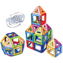 Load image into Gallery viewer, 30pcs Big Size Magnetic Building Blocks Triangle Square Bricks Magnetic Designer Construction Set Educational Toys for Children