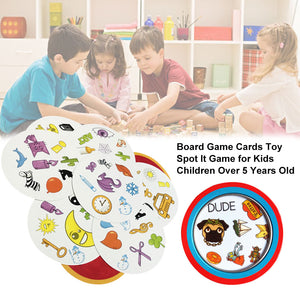 2019 board games spot for kids playing goods English version most classic cards game