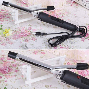 GUJHUI High Quality EU Plug Pro Hair Volume Curl Curling Make Iron Stainless Steel Hair Curler Waver Maker Hot Sale