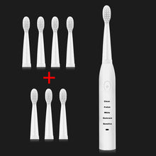 Load image into Gallery viewer, Powerful Ultrasonic Sonic Electric Toothbrush USB Charge Rechargeable Tooth Brushes Washable Electronic Whitening Teeth Brush