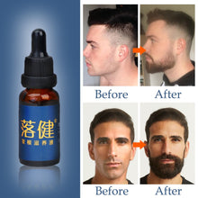 Load image into Gallery viewer, Beard Growth Oil 100% Natural Organic Beard Essential Oil for Men Beard Growth Hair Growth Essence Oil Moustache Grow Beard