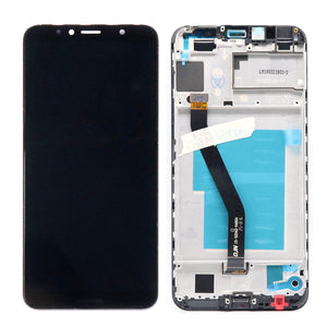 For Huawei Y6 2018 LCD Display Touch Screen ATU L11 L21 L22 LX1 LX3 L31 L42 For Huawei Y6 Prime 2018 LCD Screen With Frame