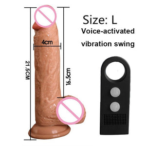 7/8 Inch Strapon Phallus Huge Large Realistic Dildos Thick Silicone Penis With Suction Cup for Women G Spot Stimulate Sex Toy