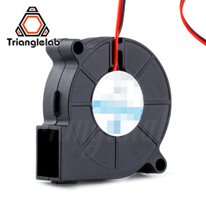 Trianglelab 5015 blower fan  High quality ball bearing cooling fan DC 12V/24V Brushless Cooling Heat dissipation for 3D printer
