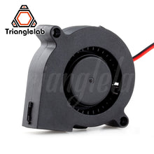Load image into Gallery viewer, Trianglelab 5015 blower fan  High quality ball bearing cooling fan DC 12V/24V Brushless Cooling Heat dissipation for 3D printer