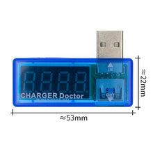 Load image into Gallery viewer, Digital Display Hot Mini USB Power Current Voltage Meter Tester Portable Mini Current and Voltage Detector Charger Doctor