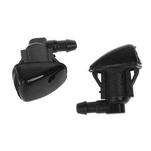 2 Pcs Auto Car Windshield Washer Wiper Water Spray Nozzle Fit For Jeep 2007 2008 2009 2010 2011 Vehicle Car Accessories